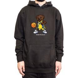"""BasketBall Bear Hoodie """" Black"""