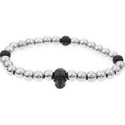The Mister Annum Bead Bracelet - Chrome