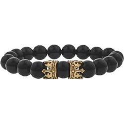 The Mister King Bead Bracelet - Gold
