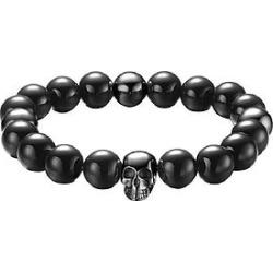 The Mister Annum Plus Bead Bracelet -  Black