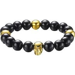The Mister Annum Plus Bead Bracelet - Gold