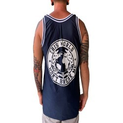 Unbreakable Navy Basketball Jersey