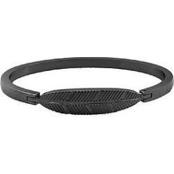 The Mister Axle Feather Bracelet - Black