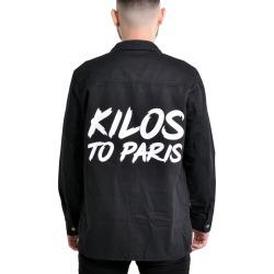 Kilos To Paris Denim Jacket in Black