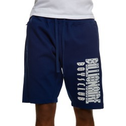Straight Font Shorts in Blue Depths
