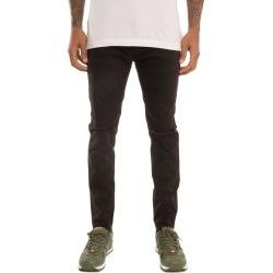 SquareZero Premium Stretchable Denim Skinny Pants with Raw Bottom Opening