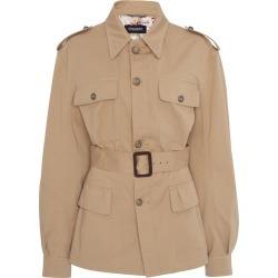 Dolce & Gabbana Belted Stretch-Cotton Jacket
