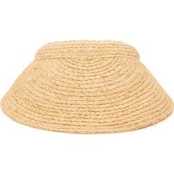 Lola Hats Marquee Raffia Visor
