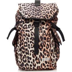 Ganni Leopard-Print Shell Backpack found on Bargain Bro India from Moda Operandi for $205.00