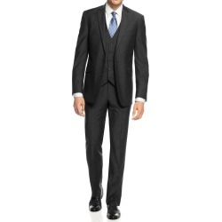 Men's Slim Fit 2 Button 3 Piece Suit Set found on Bargain Bro India from MYSALE GROUP (OzSale) for $105.04