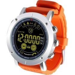 "Bluetooth V4.0 Smart Watch 1.8"" Fstn Lcd Sports Tracker Ip67 Android Ios - Orange"