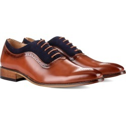 Signature Men's Lace Up Medallion Toe Dress Shoes found on Bargain Bro Philippines from MYSALE GROUP (OzSale) for $51.76