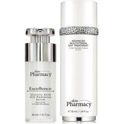 Skin Pharmacy K2 SP Excellence Glycolic Acid Skin Radiance Serum + Advanced Multivitamin Day Treatment