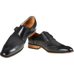 Gino Vitale Men's Monk Strap Herringbone Dress Shoes found on Bargain Bro Philippines from MYSALE GROUP (OzSale) for $56.26