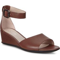 ECCO Shape 35 Wedge Sandal Cinnamon Celeste found on Bargain Bro from MYSALE GROUP (OzSale) for USD $65.07