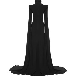 Alex Perry Bradford- Satin Crepe Sweetheart Portriat Cape Sleeve Gown found on MODAPINS from MYSALE GROUP (OzSale) for USD $2392.96