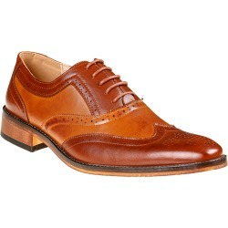 Gino Vitale Men's Two Tone Wing Tip Oxford Shoes found on Bargain Bro India from MYSALE GROUP (OzSale) for $59.70