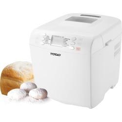 Bread Maker 16 Programs Menu 550W Power Keep Warm Function White