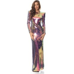Alex Perry Hutton-Sequin Long Sleeve Gown found on MODAPINS from MYSALE GROUP (OzSale) for USD $560.85