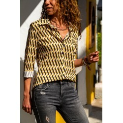 Mustard Woven Shirt found on MODAPINS from MYSALE GROUP (OzSale) for USD $30.06