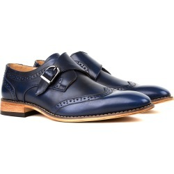 Givo Vitale Gino Vitale Men's Single Monk Strap Wing Tip Dress Shoes found on Bargain Bro India from MYSALE GROUP (OzSale) for $59.70