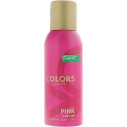 Benetton Colours De Benetton Pink Deodorant Spray 150ml found on Bargain Bro Philippines from MYSALE GROUP (OzSale) for $11.07