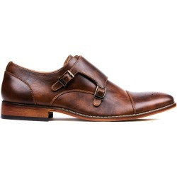 Gino Vitale Men's Monk Strap Cap Brogue Dress Shoes found on Bargain Bro India from MYSALE GROUP (OzSale) for $56.68
