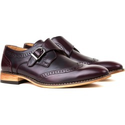 Givo Vitale Gino Vitale Men's Single Monk Strap Wing Tip Dress Shoes found on Bargain Bro Philippines from MYSALE GROUP (OzSale) for $56.26