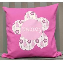 Girl's Personalised Cushion