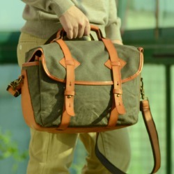 Waxed Canvas Dslr Camera Shoulder Bag found on Bargain Bro UK from Notonthehighstreet.com for $125.90