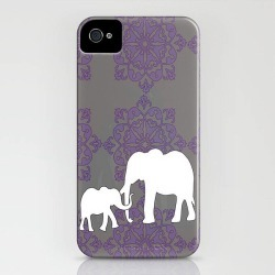 Mama And Me Elephant Case For IPhone
