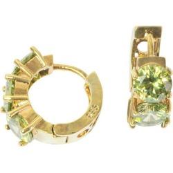 CHEAP Peridot Earrings Gold Hoop Earrings Gifts For Her