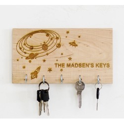 My Space Personalised Key Holder