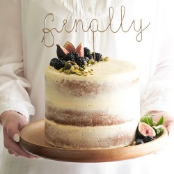 Finally Wire Wedding Cake Topper