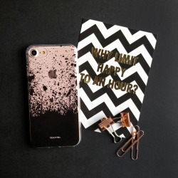 Black Splat iPhone Case found on Bargain Bro UK from Notonthehighstreet.com for $11.33