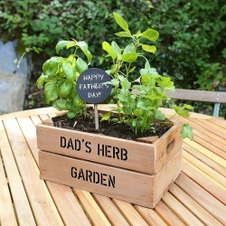 Personalised Crate With Herb Seeds