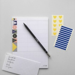 A5 Magnetic Planner Pad