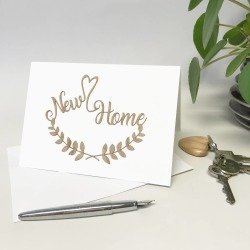 Papercut New Home Card