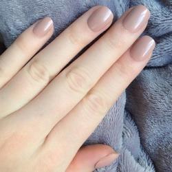 Short Natural False Nails