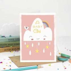A Baby Girl Card