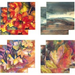 Eight Fine Art Watercolour Gift Cards Pack C found on Bargain Bro UK from Notonthehighstreet.com for $19.45