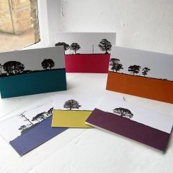Rural Landscape Greeting Cards