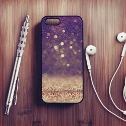 Falling Glitter Print Case For iPhone found on Bargain Bro UK from Notonthehighstreet.com for $18.87