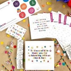 Multi Buy Box Of Activity Books For Kids Your Wedding found on Bargain Bro UK from Notonthehighstreet.com for $50.36