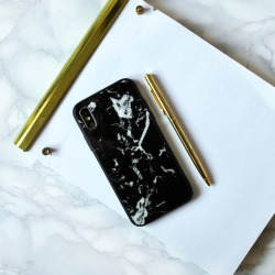 Modern Black Marble iPhone Case found on Bargain Bro UK from Notonthehighstreet.com for $16.37