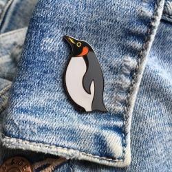 Emperor Penguin Enamel Pin