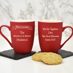 Personalised Mug Best Husband found on Bargain Bro UK from Notonthehighstreet.com