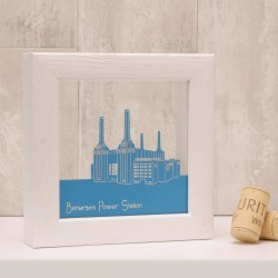 Battersea Power Station Mini Papercut