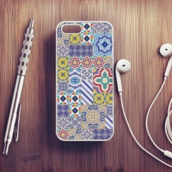 Moroccan Tile Case For iPhone found on Bargain Bro UK from Notonthehighstreet.com for $18.87