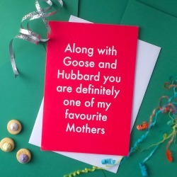 Favourite Mother Greetings Card